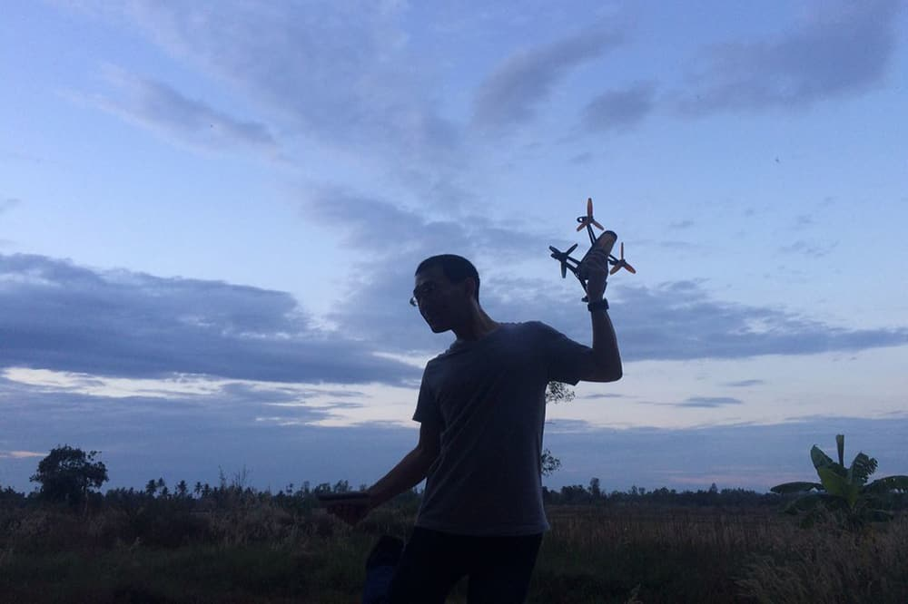 find lost drone