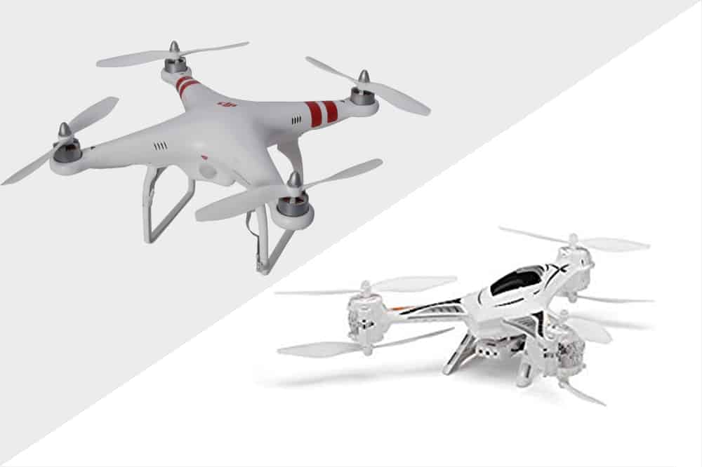 quadcopter vs tricopter